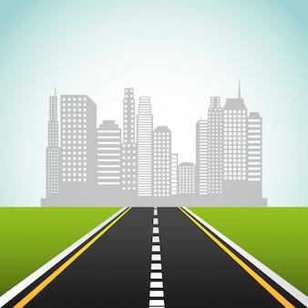 Route d'autoroute