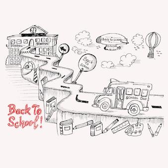 Route de l'école