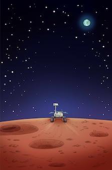 Rover d'exploration d'opportunité sur mars