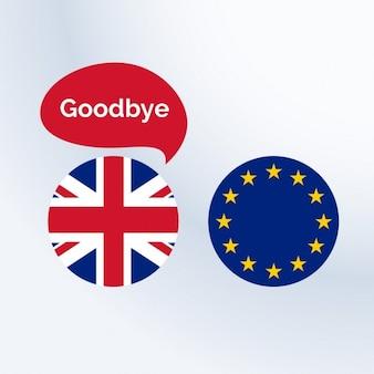 Royaume-uni de dire au revoir à l'union européenne
