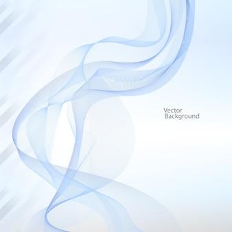 Ruban abstrait avec les couleurs changeantes sur blanc