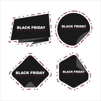 Ruban noir offre spéciale vendredi noir et gris