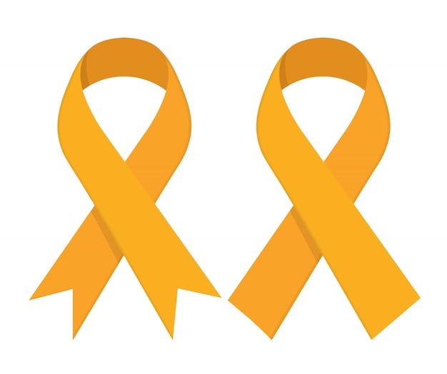 Ruban d'or - cancer infantile