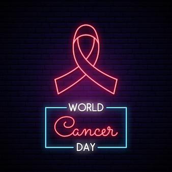 Ruban rose comme mois de sensibilisation au cancer.