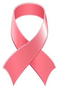 Ruban rose symbole journée mondiale du sida