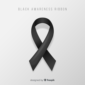 Ruban de sensibilisation noir