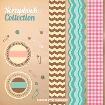 Rubans et étiquettes scrackbook