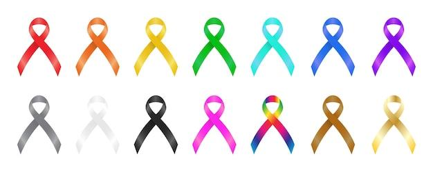 Un rubans de sensibilisation coloré
