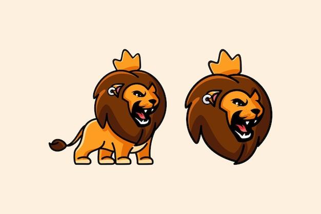 Rugissement mignon de lion