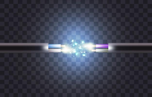 Rupture de câble électrique