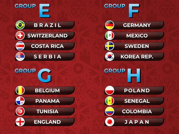 Russie 2018 coupe du monde fifa