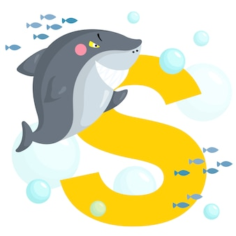 S pour requin