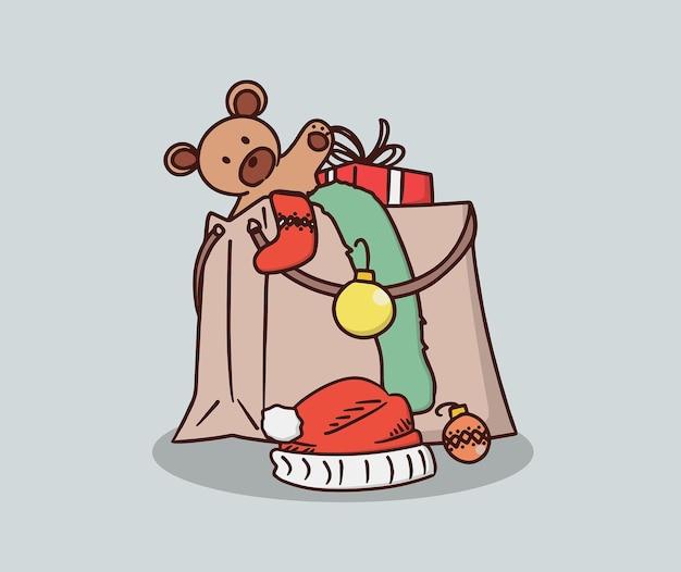 Sac plein de cadeau