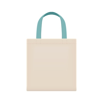 Sacs en tissu écologique vierges pour réduire les déchets à l'aide de sacs en plastique