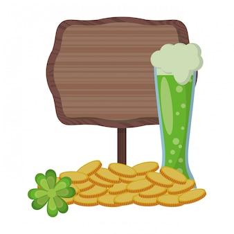 Saint patrick fête irlandaise