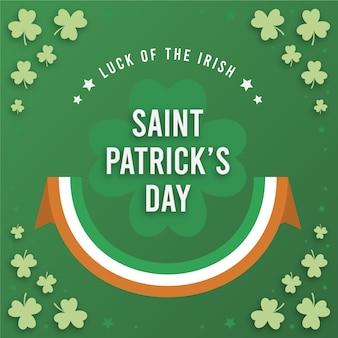 Saint patrick irlandais traditionnel