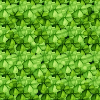 Saint patrick jour trèfle vert sans soudure de fond