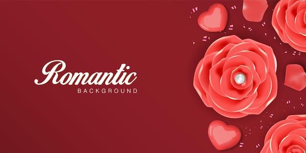 Saint valentin romantique réaliste