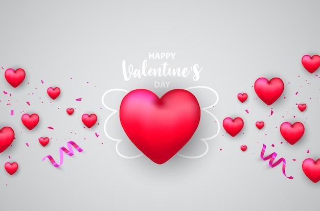La saint valentin,