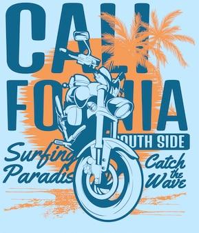 Saisir la vague en californie