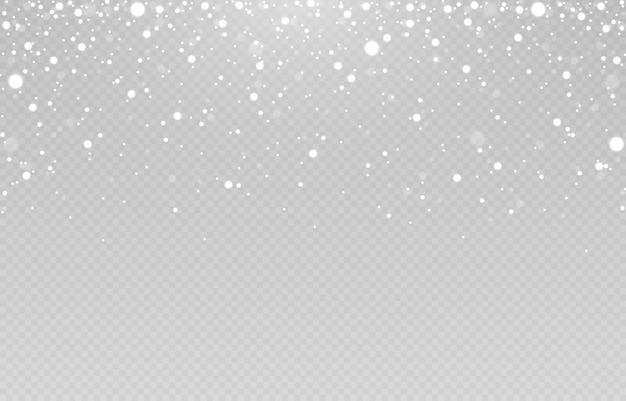 Saison d'hiver des chutes de neige