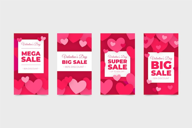 Sale story collection saint valentin