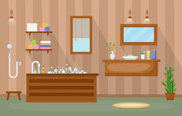Salle de bain meublée résidentielle