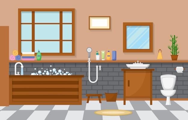 Salle de bain résidentielle