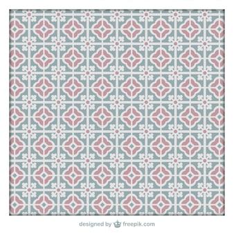 Salle de bains d'ornement tiles motif