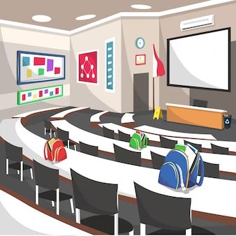 Salle d'école du séminaire auditorium college