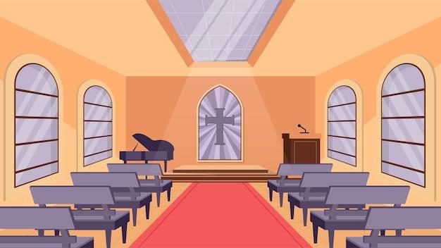 Salle de l'église - scènes d'intérieur
