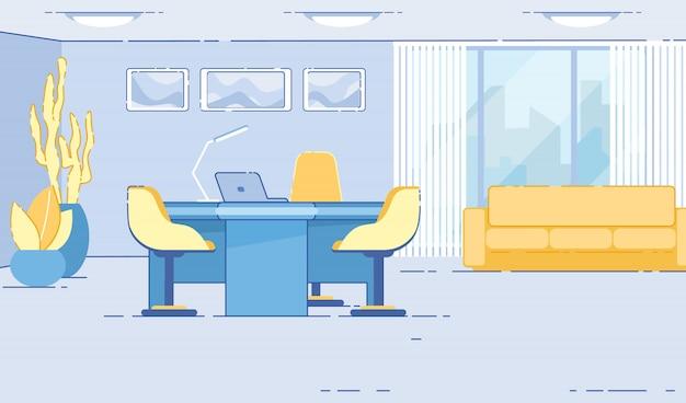 Salle de réception ou hall avec espace pour les clients