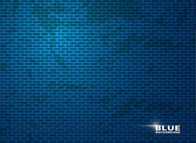 Salle de studio bleu vide, utilisée comme arrière-plan pour afficher vos produits.