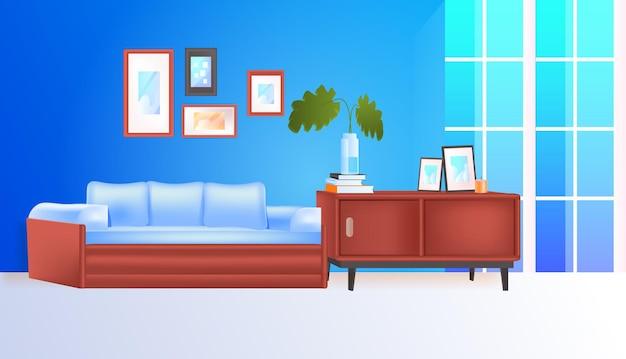 Salon intérieur maison moderne appartement horizontal