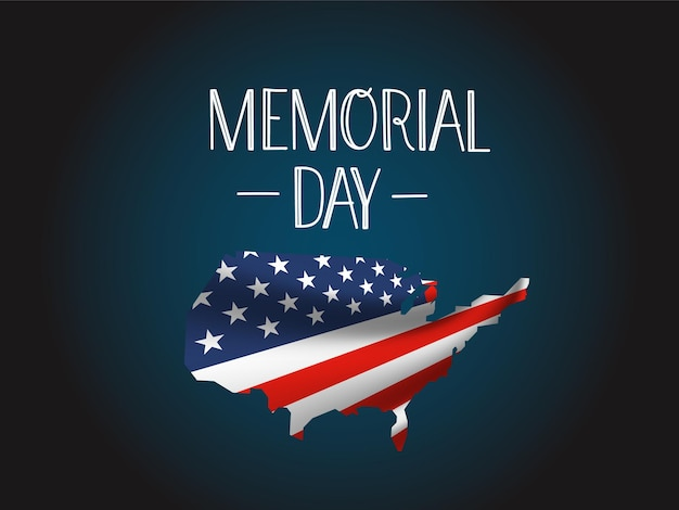 Salutation du memorial day