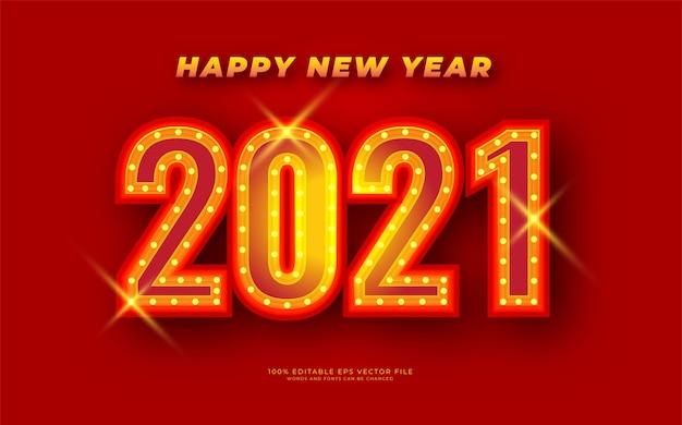 Salutations de célébration de bonne année avec fond rouge vif