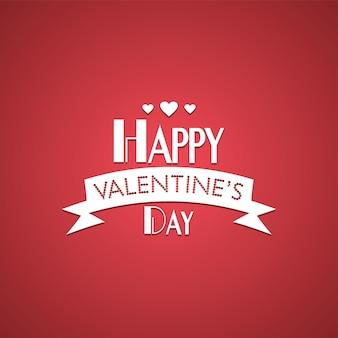 Salutations de la saint-valentin