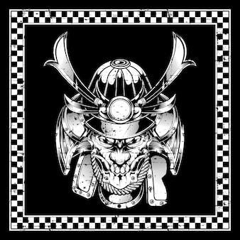 Samurai crâne