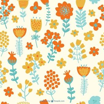 Sans motif de fleurs sans soudure