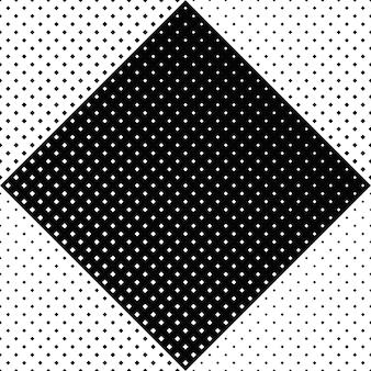 Sans soudure de fond carré géométrique noir et blanc