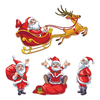 Santa clause vector