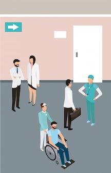La santé des personnes médicales