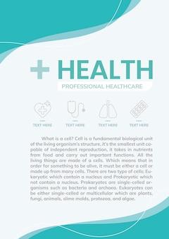 Santé et soins de santé pour le coronavirus