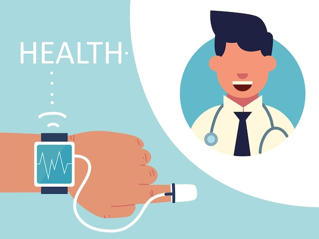 Santé avec la technologie portable