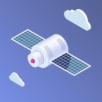 Satellite isométrique