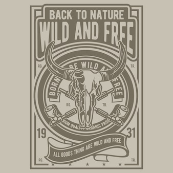 Sauvage et libre