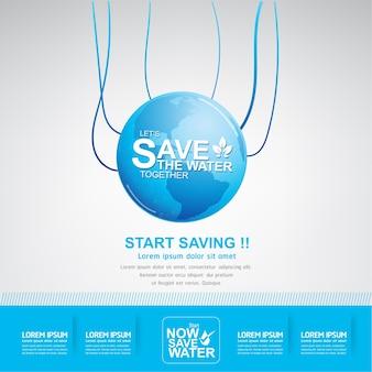 Sauver l'eau l'eau c'est la vie