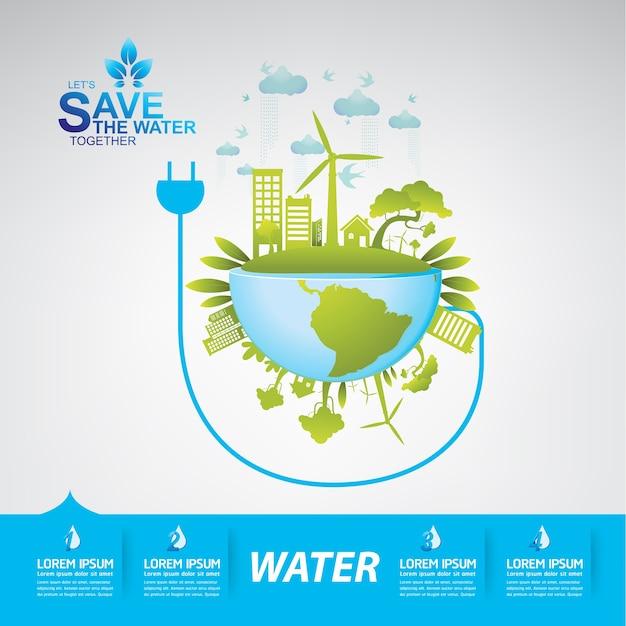 Sauver le vecteur de l'eau