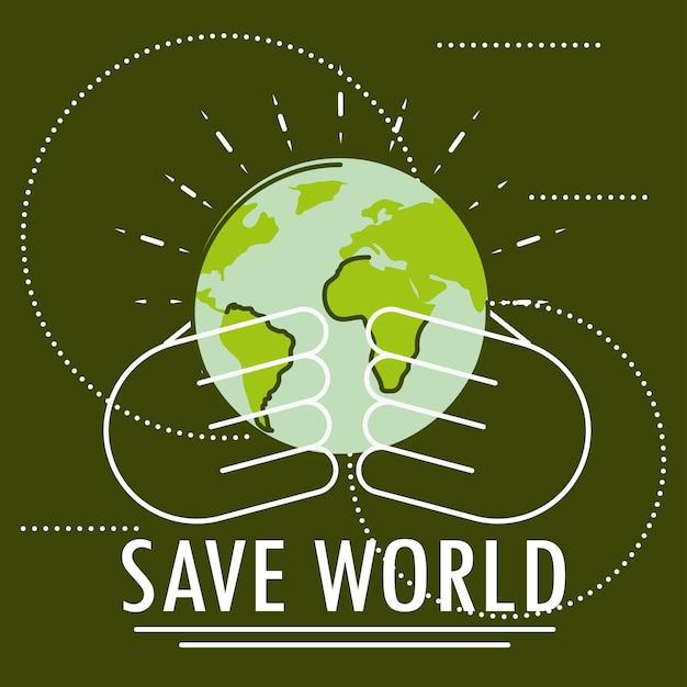 Sauvez la carte verte du monde