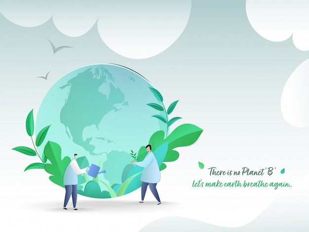 Sauvez le concept de la nature.